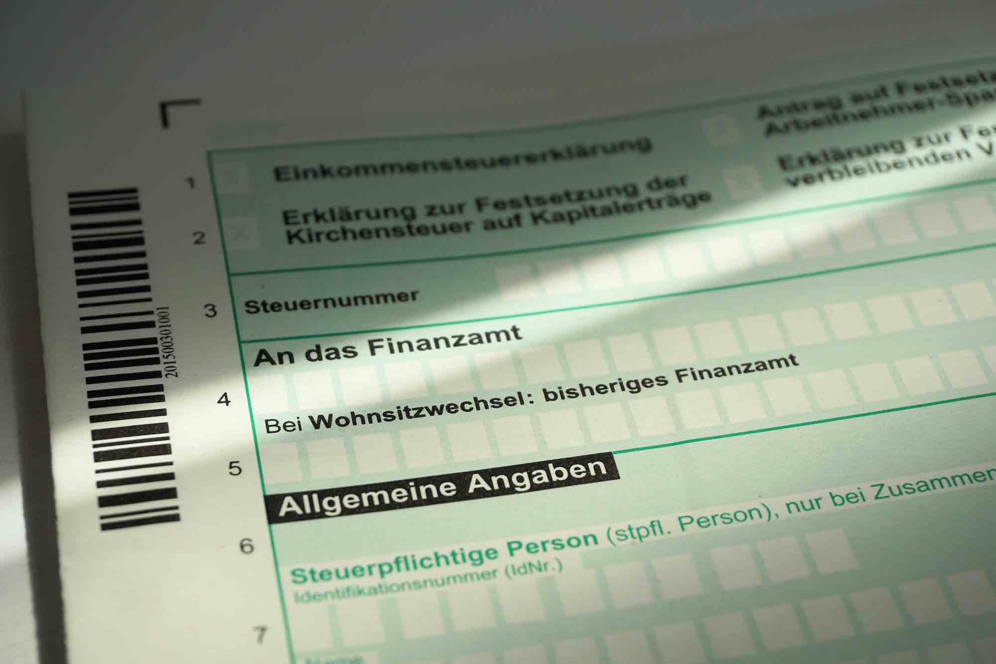 germany taxes